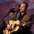 Josh Williams at the Bluegrass Album Band reunion show at Bluegrass First Class (2/16/13) - photo by John Goad