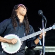 Hubby Jenkins with Carolina Chocolate Drops at DelFest 2013 - photo © G. Milo Farineau