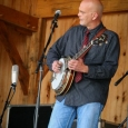 Sammy Shelor with Lonesome River Band at Gettysburg, Spring 2014 - photo by Frank Baker