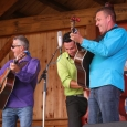 Canucky Bluegrass Boys at the Gettysburg Bluegrass Festival (August 2014) - photo by Frank Baker