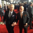 Jamie Dailey and Darrin Vincent at the 2014 Grammy red carpet (1/26/14)