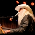 Leon Russell performs at MerleFest 2013 - photo by Andy Garrigue
