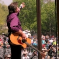 Chris Smither on the Cabin Stage at MerleFest 2013 - photo by Andy Garrigue