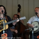 Heather Berry and Tony Mabe at the 2012 Milan Bluegrass Festival - photo © Bill Warren (www.candidpix.info