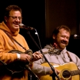 Vince Gill and Dan Tyminiski at the 2012 Oklahoma International Bluegrass Festival - photo by Tom Dunning