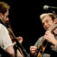 Gabe Witcher and Chris Thile with Punch Brothers in Charlottesville (2/11/13) - photo © G. Milo Farineau