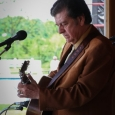 Larry Sparks at the Gettysburg Bluegrass Festival (May 17, 2013) - photo by Frank Baker