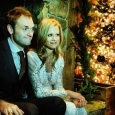 Chris Thile and his new bride, Claire Coffee