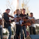 Ronnie Bowman and Kenny Smith with Travelin' McCourys at Cumberland Park (9/23/12) - photo by Woody Edwards