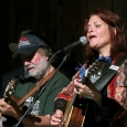 Roseanne Cash and John Leventhal at the 2013 Wayne Henderson Festival - photo by Andy Garrigue