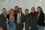 Balsam Range with the writers of the 2011 IBMA Song of the Year - photo © Roy Swann