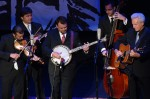 The Del McCoury Band performing on the 2011 IBMA Awards show - photo © Roy Swann