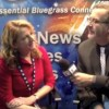 Claire Lynch and David Morris at IBMA 2012