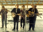 Flatt & Scruggs at the Warrenton Festival in 1966: Paul Warren, Earl Scruggs, Earl Taylor, Lester Flatt, Josh Graves (Jake Tullock - not pictured)