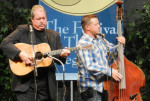 Russell Moore and Edgar Loudermilk with IIIrd Tyme Out at Festival of the Bluegrass 2013 - photo by Valerie Gabehart