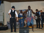 Jon Goldfine dancing with Banyuwa in Niamey
