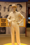 Statue of a young Earl Scruggs at the Earl Scruggs Center in Shelby, NC - 1/11/14