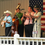 Tommy Brown & County Line with special guest Tammy at Bean Blossom (June 2012) - photo by Valerie Gabehart