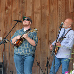 Lonesome River Band at the Wayne Henderson Festival site in Grayson County, VA - photo by Teresa Gereaux