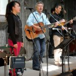 The Inaba Brothers with Alisa Inaba perform at KazCamp 2015