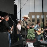 Doyle Lawson & Quicksilver at the 2017 Wide Open Bluegrass - photo by Frank Baker