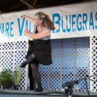Footworks at the 2019 Delaware Valley Bluegrass Festival - photo by Frank Baker