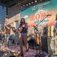 Rumple Mountain Boys at the 2019 Downtown ROMP Air Show After Party at the Bluegrass Music Hall of Fame & Museum in Owensboro, KY - Image courtesy of the Bluegrass Music Hall of Fame & Museum, photo by AP Imagery