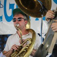 Tuba Skinny at the 2019 Delaware Valley Bluegrass Festival - photo by Frank Baker