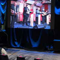 Kevin Prater Band at SPBGMA 2020 in Nashville - photo by Dave Berry