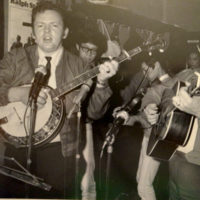 Roy Lee Centers with Ralph Stanley & The Clinch Mountain Boys in Japan (1971) - photo courtesy of the Centers family