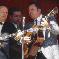 Roy Lee Centers with Ralph Stanley & The Clinch Mountain Boys in the early 1970s