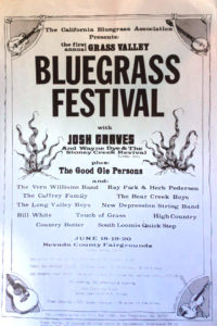 Program from the first CBA festival in 1976