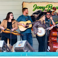 Michelle Canning Band at the 2021 Jenny Brook Bluegrass Mini-Fest - photo by String River Studios
